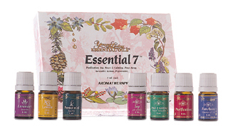 ESSENTIAL 7 KIT (Beautifully versatile aromatherapy kit)