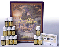 TWELVE OILS OF ANCIENT SCRIPTURE KIT (Discover the miracle of biblical healing oils)